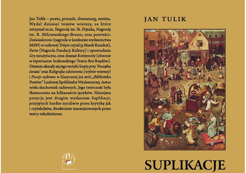 Suplikacje - Jan Tulik